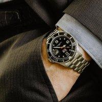 ICE Watch ICE.016031 ICE-Steel ICE Steel - Black silver rozm. M zegarek męski klasyczny mineralne