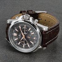 zegarek Jacques Lemans 1-1117.1WN srebrny Sport