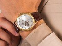 Zegarek męski klasyczny  Classic RA-AG0013S10B szkło mineralne - duże 6