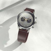 Zegarek męski klasyczny  Nevil NEST114-CL110412 szkło mineralne - duże 9