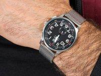 Zegarek męski klasyczny Adriatica Bransoleta A1066.5124Q szkło mineralne utwardzane - duże 6
