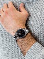 Zegarek męski klasyczny Atlantic Sealine 62346.41.61 szkło szafirowe - duże 5
