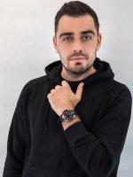 Citizen NY0076-10EE zegarek srebrny klasyczny Promaster pasek