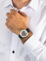 Zegarek męski klasyczny Epos Emotion 3390.155.20.20.25 Emotion Skeleton szkło szafirowe - duże 5