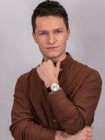 Zegarek męski klasyczny Orient Classic FUG1R005W6 Capital  szkło mineralne - duże 4