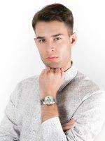 Zegarek męski klasyczny Orient Contemporary FEU00002WW szkło mineralne - duże 4
