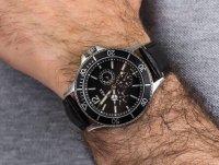 Zegarek męski klasyczny Timex Harborside TW2U12900 szkło mineralne - duże 6