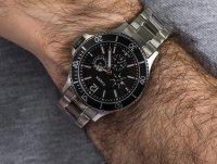 Zegarek męski klasyczny Timex Harborside TW2U13100 szkło mineralne - duże 6