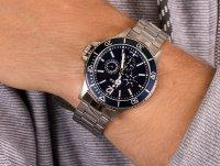 Zegarek męski klasyczny Timex Harborside TW2U13200 szkło mineralne - duże 6
