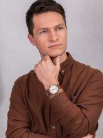 Zegarek męski klasyczny Timex Weekender TWG012500 szkło mineralne - duże 4
