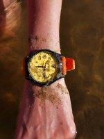 Traser TS-107423 P67 Officer Pro P67 Officer Pro GunMetal Orange zegarek męski klasyczny szafirowe