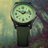 Zegarek męski klasyczny Traser P67 Officer Pro TS-107424 P67 Officer Pro GunMetal Lime szkło szafirowe - duże 12