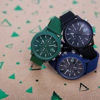 Lacoste 2010973 zegarek zielony fashion/modowy Męskie pasek