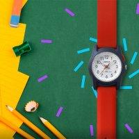 Lorus R2383MX9 zegarek niebieski sportowy Dla dzieci pasek