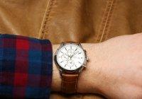 Lorus RF325BX9 zegarek srebrny klasyczny Sportowe pasek