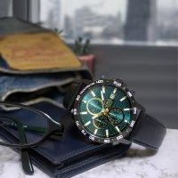 Lorus RM319GX9 zegarek czarny sportowy Sportowe pasek