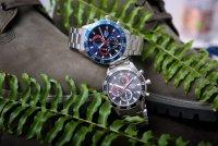 Lorus RM333FX9 Sportowe sportowy zegarek srebrny