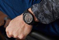 Lorus RT349HX9 zegarek czarny sportowy Sportowe pasek