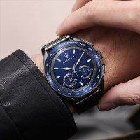 Maserati R8873612009 zegarek szary sportowy Traguardo bransoleta