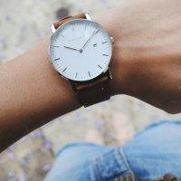 Meller 1B-1CAMEL1 zegarek srebrny klasyczny Astar pasek