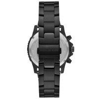 Michael Kors MK8755 zegarek czarny sportowy Cortlandt bransoleta
