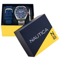 N-83 NAPFWS013 FINN WORLD BOX SET zegarek klasyczny Nautica N-83