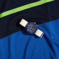 Nautica NAPSRF002 zegarek niebieski sportowy Pasek pasek