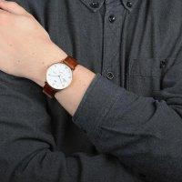 Zegarek męski Obaku Denmark Slim V190GDGWRN - duże 4