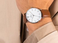 Zegarek męski Obaku Denmark Slim V197GXCWRN - duże 6