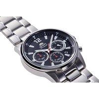 Orient RA-KV0001B10B zegarek srebrny sportowy Sports bransoleta