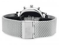 Orient RA-KV0401L10B Classic sportowy zegarek srebrny