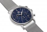 Orient RA-KV0401L10B zegarek srebrny sportowy Classic bransoleta