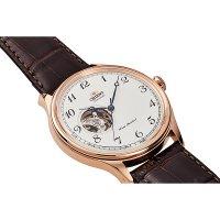 Orient RA-AG0012S10B zegarek różowe złoto klasyczny Classic pasek