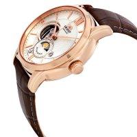 Orient RA-AS0003S10B zegarek różowe złoto klasyczny Classic pasek
