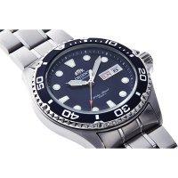 Orient FAA02005D9 zegarek srebrny sportowy Sports bransoleta