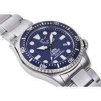 Orient RA-EL0002L00B zegarek srebrny sportowy Sports bransoleta