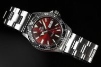 Orient RA-AA0003R19B Kamasu Sports klasyczny zegarek srebrny