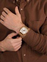 zegarek Pierre Ricaud P97201.1111CH męski z chronograf Bransoleta