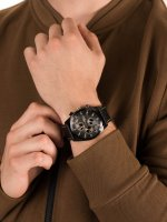 zegarek Pierre Ricaud P97223.B216QF męski z tachometr Pasek