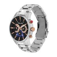 Police PL.15523JS-02M zegarek srebrny klasyczny Bransoleta bransoleta