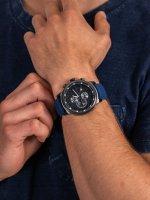 zegarek Police PL.15657JSBU-03P męski z chronograf Pasek