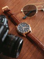 Pulsar PZ5062X1 zegarek różowe złoto sportowy Sport pasek