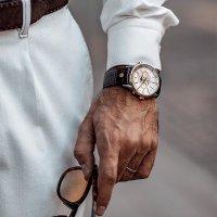 Roamer 508821.49.13.05 zegarek srebrny klasyczny Superior pasek