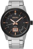 Zegarek męski Seiko  classic SUR285P1 - duże 1