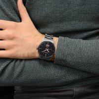 Zegarek męski Seiko  classic SUR285P1 - duże 2