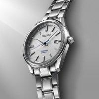 Seiko SJE073J1 Presage Presage Snowflake 2018 Automatic Limited Edition zegarek męski klasyczny szafirowe
