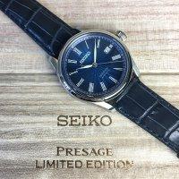 Zegarek męski Seiko presage SPB075J1 - duże 5