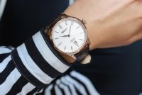 Seiko SRPD42J1 męski zegarek Presage pasek