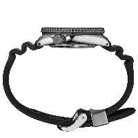 Seiko SRPC91K1 zegarek srebrny sportowy Prospex pasek