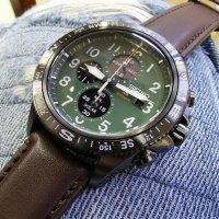 Seiko SSC739P1 zegarek czarny sportowy Prospex pasek